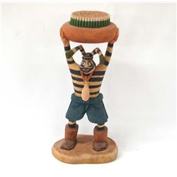 Native American Hopi Clown Kachina, Ted Francis Jr
