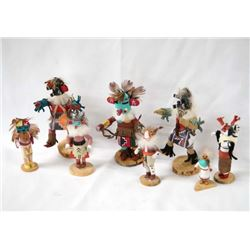 Collection of 8 Navajo Miniature Kachinas