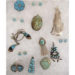 Native American Navajo & Zuni Jewelry Collection