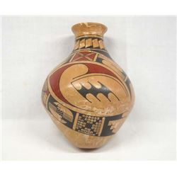 Mexican Mata Ortiz Polychrome Jar by R. Madrigal