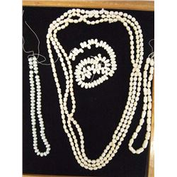 Collection of 6 Strands of Pearls