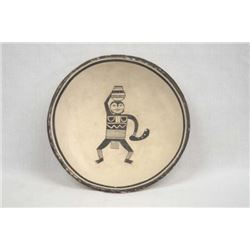 Native American Mimbres Picture Pottery Replica