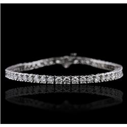 14KT White Gold 7.52ctw Diamond Bracelet