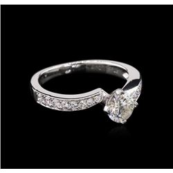 1.06ctw Diamond Ring - Platinum