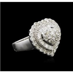1.80ctw Diamond Ring - 14KT White Gold