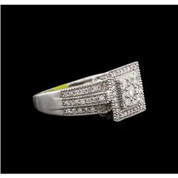 0.78ctw Diamond Ring - 14KT White Gold