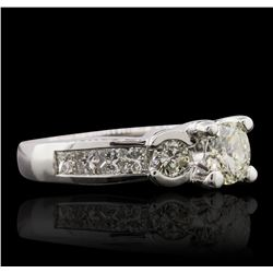 14KT White Gold 1.95ctw Diamond Ring