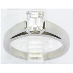 0.74ct Diamond Ring - 14KT White Gold