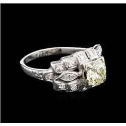 1.63ctw Diamond Ring - Platinum