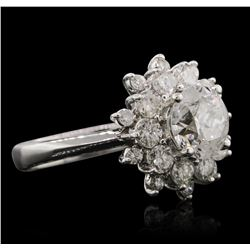 14KT White Gold 2.40ctw Diamond Ring