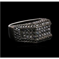 14KT Black Gold 2.40ctw Black Diamond Ring