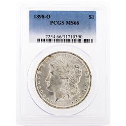 1898-O PCGS MS66 Morgan Silver Dollar
