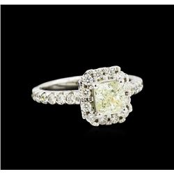 1.64ctw Diamond Ring - 14KT White Gold