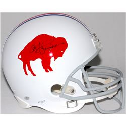 O.J. Simpson Signed LE Bills Throwback Full-Size Helmet (Simpson Hologram)