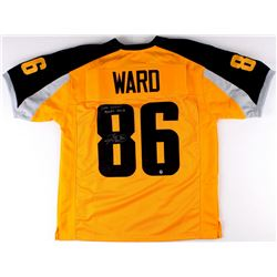 "Hines Ward Signed ""Gotham"" Jersey Inscribed ""Dark Knight Rises 2012"" (TSE COA)"