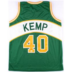 Shawn Kemp Signed Supersonics Jersey (JSA COA)