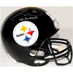 "Hines Ward Signed Steelers Full-Size Helmet Inscribed ""SB XL MVP"" (JSA COA & TSE COA)"