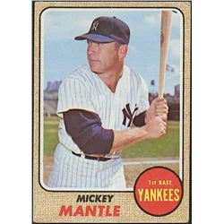 Mickey Mantle 1968 Topps #280