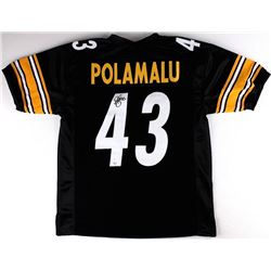 Troy Polamalu Signed Steelers Jersey (JSA COA & TSE Hologram)
