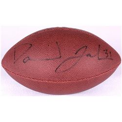 David Johnson Signed Football (JSA COA)