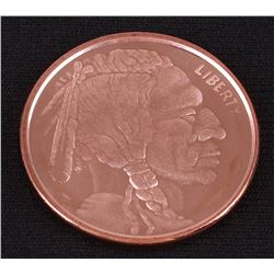 Indian Head 1 AVDP Oz. Fine Copper Round