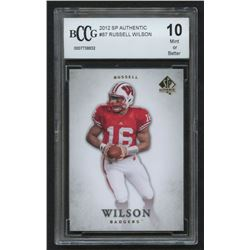 Russell Wilson 2012 SP Authentic #87 (BCCG 10)