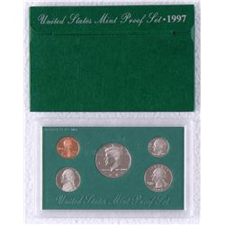 1997 United States Mint Clad Proof Set of (5) Coins