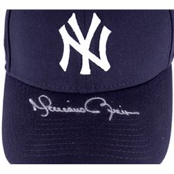 Mariano Rivera Signed Yankees Fitted Wool Hat with Retirement Logo Patch (Steiner COA)