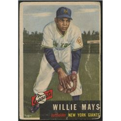 Willie Mays 1953 Topps #244