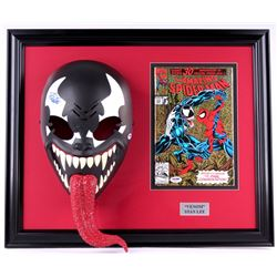 "Stan Lee Dual-Signed ""Venom"" 19x22x7 Custom Framed Mask & Comic Book Display (PSA COA)"