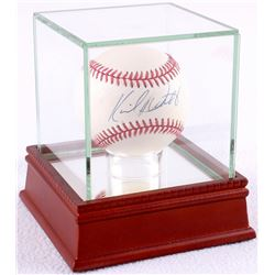 Kirby Puckett Signed OAL Baseball with High Quality Display Case (PSA COA)