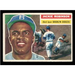 Jackie Robinson 1956 Topps #30