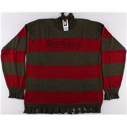 "Robert Englund Signed ""A Nightmare on Elm Street"" Freddy Krueger Sweater (Englund & PA COA)"