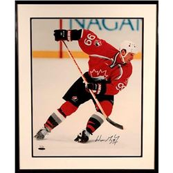 Wayne Gretzky Signed Limited Edition Team Canada Olympic 16x20 Custom Framed Photo (UDA COA)