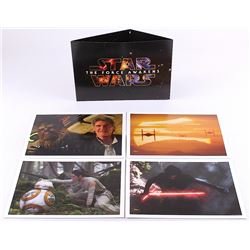 "Star Wars: The Force Awakens Set of (4) Exclusive Limited Edition 14"" x 10"" Lithographs with Origina"