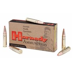 *AMMO* HORNADY 300 AAC Blackout/Whisper (7.62X35mm) V-MAX 100GR (200 ROUNDS) 090255380897