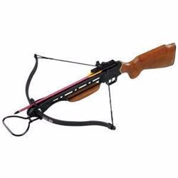 *NEW* GEN PRO, Crossbow, Steel Construction w/Rifle Grip, 150lb MNA-X9512-WOOD