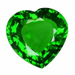 Natural Green Heart Moldavite 28.59 Carats