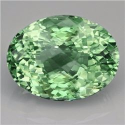 Natural Healing Green Color Amethyst 16 Cts - VVS
