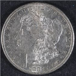 1883-S MORGAN DOLLAR AU+