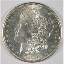 1890-S MORGAN DOLLAR GEM BU PL