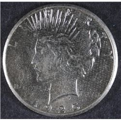 1925-S PEACE DOLLAR AU/UNC SEMI-KEY