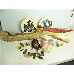 19 Northwest Coast Items