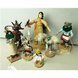 7 Little Indian Dolls