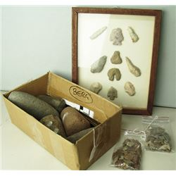 Arrowheads and Pestles