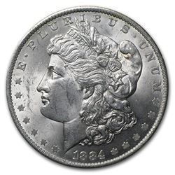 1884-O Morgan Dollar BU MS-63