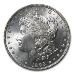 1896 Morgan Dollar MS-64 PCGS