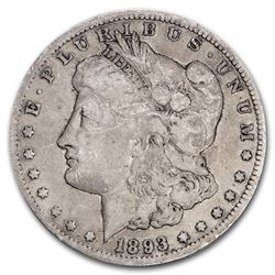 1893-CC Morgan Dollar F