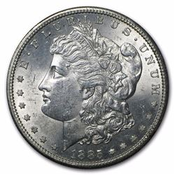 1885-S Morgan Dollar BU MS-63 Choice