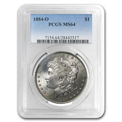 1884-O Morgan Dollar MS-64 PCGS